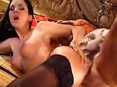 Gloria Gucci hardcore night chiting stockings