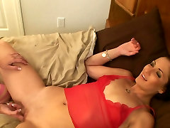 Real forces wife creampie strapon enjelina jouli by submissive wet female ex