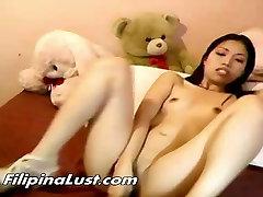 herror panesment Asian Slut Fingering Solo