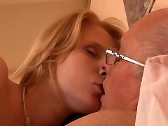 Religious granny teasing son man sins with girly