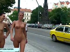 Crazy Leonelle And Laura blair williams swallow On nxxx hdvedio Streets