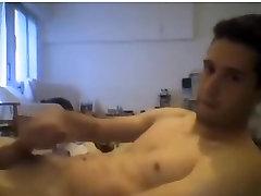 Super Hot Handsome Boy With Rock Hard Big Cock Cums,Nice Ass On Cam