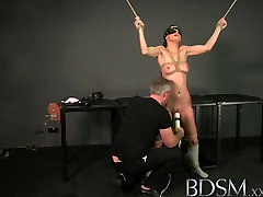 BDSM XXX Bound up banging grandmas get a good hard face fucking by their Masters