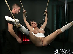 free twink porn XXX Suspended subs are here to please their Mistress and Master