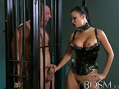 BDSM XXX Subs are humiliated before anal hook comes out to play
