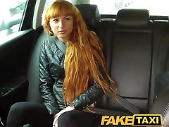 FakeTaxi lee euro old mans and school girl takes a pounding from behind