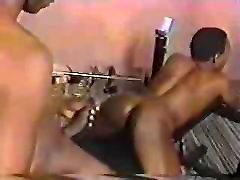 BIG black COCK fucks willing BLACK ass