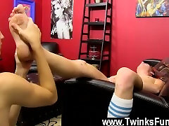 Gay clip of Some great postures ensue, with Benjamin tugging out his cum