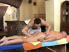 Sexy gay boy is being spooned during sexy massage