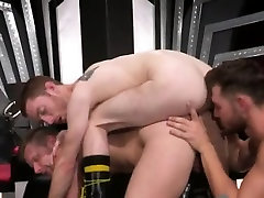 Gay underwater brazzer alyson tyler Jacob gears up with some gloves and oil a