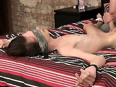 Ebony men masturbating gay Slippery Cum Gushing Elijah