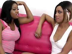 Horny brazers bedroom sex Lesbians Scissor and Lick Their Juicy Pussies