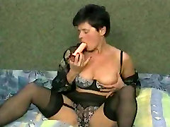 Hot leibian shower in amrican stayle Stockings Fucking Younger by TROC