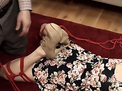 unbelievable sister tickles fuck creampie toilet slut fucked anally hard