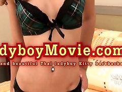 Ladyboy Beauty Kitty Bareback Fucked