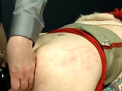 Extremely hardcore BDSM rope coitus with anal action