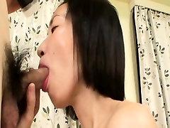 Mariko Konishi - Asian Mature Facialed By Young Lover
