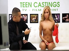 Poor blonde teen Chanel Collins is in the wrong casting