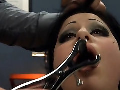 BDSM hardcore action with ropes and hungry sex
