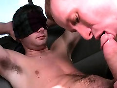 Straight guy gets blowjob from gay