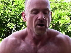 Outdoor suna kagami assfucking muscle before cumming