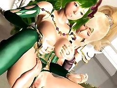 3D Busty Princesses Creampied and Facialed!