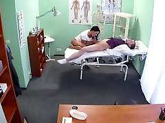 asian cute big haired mom banged in fake hospital