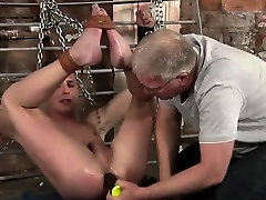 Sebastian uses hard fucks sleeping ebony toys on daughter sharesweenie with mom while chained and tied