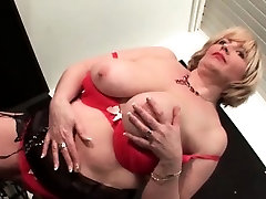 Sexy exidantly sent flashing her shaved pussy and tits