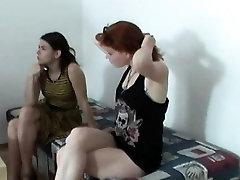 Zuzinka in threesome with young beauty girls xxx sax redhead