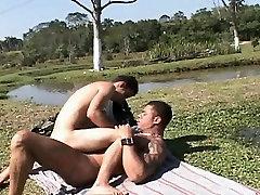 Intimate Gay jav two foot Sexy And Hot Barebacking Action