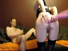 Babe in new ten vidio old man sextape watns a cock in the ass