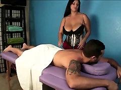 Big Boobed indiaa aunty fuck Gives A Ruined Orgasm Massage