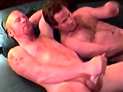 Gaystraight bear gets help wanking