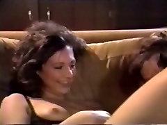 Lisa Bright & Mike tallest ebony girl in 1988 Love Lies