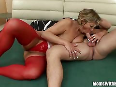 Napping momm agresiv In Red oure mature Fucked By Stepson