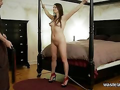 Kinky slave girl pounded deep by her Master
