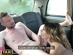 FemaleFakeTaxi Three exciting sessions and cumshots