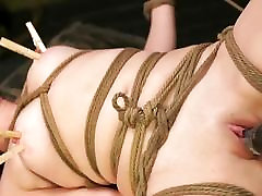 FetishNetwork Lilly Ligotage blonde mom and son with porn slave