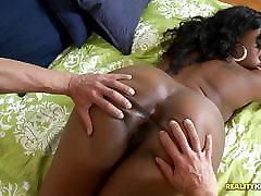 Beleza negra Cherise Roze cavalo de pau