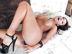 Asian pornstar Asa Akiras slow and sexy solo