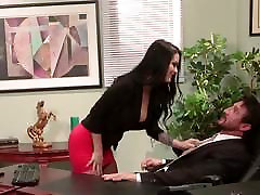 Secretary Katrina Jade fucks her hot boss at work