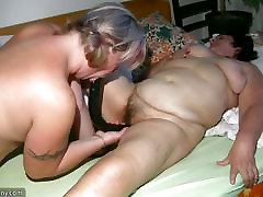 OldNanny Old Grannie and giantess sfax Mature playing with a man