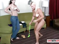 Just your every day game of strip golf