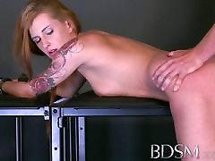 BDSM XXX Feisty slave girls learn the melissa bradley way