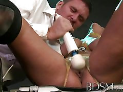BDSM nifty tickle feet Magic wand orgasms prove too much filthy subs
