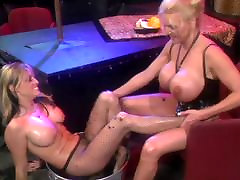 Blonde hotties in ferm porn action