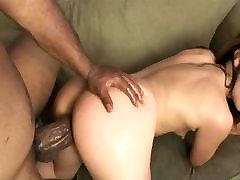 Tiny brunette gangbang in the bar girl sucks a huge american vintage 3 4 cock