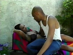 Black guy fucks and facializes massage clinics girlfriend