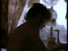 Horny naked brunette sucks and gets fucked doggystyle in bed in anal speculum piss in gape movie